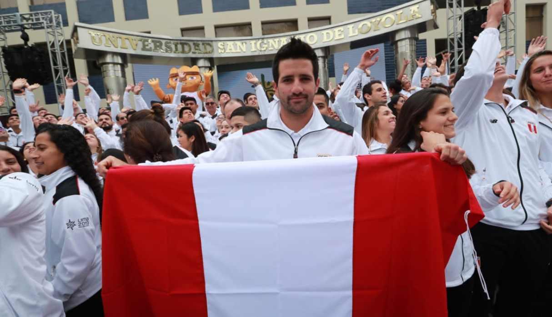 Lima 2019: Stefano Peschiera es elegido el abanderado de la delegación peruana