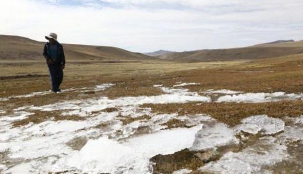 Junín: temperatura desciende hasta 13 grados bajo cero en algunas zonas