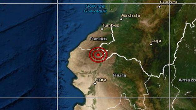 Piura: sismo de magnitud 5 se reportó en Máncora, señaló el IGP