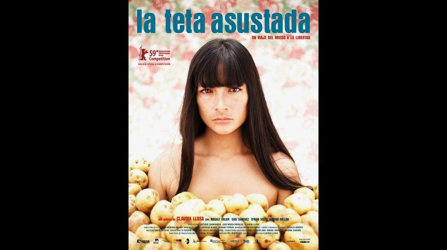 Fausta (Magaly Solier) en la Teta Asustada.