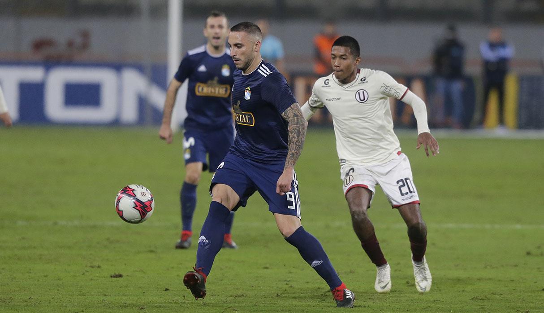 Universitario empató 1-1 con Sporting Cristal por la Liga 1