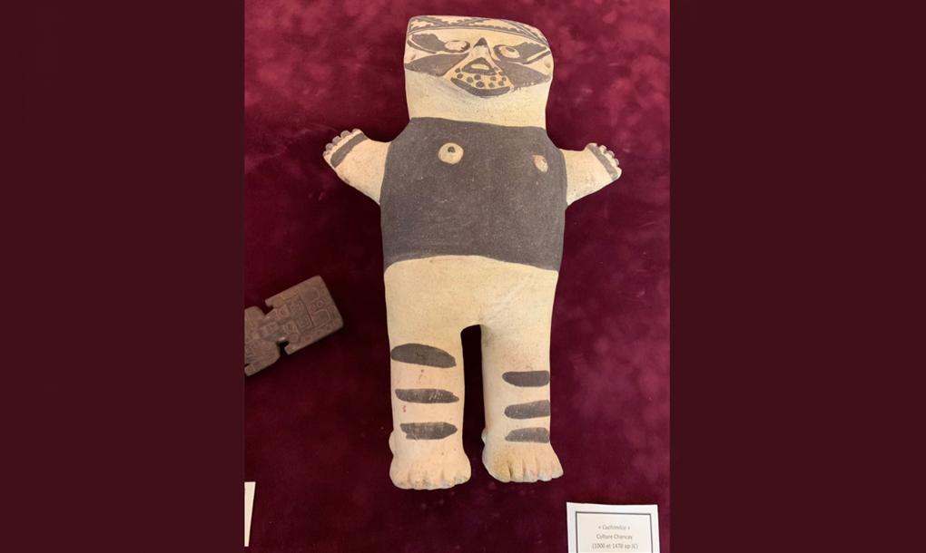 Francia devuelve a Perú tres piezas confiscadas de las culturas Chancay y Chimú | FOTOS