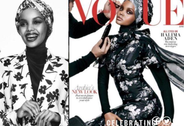 Ella es la primera modelo en usar hiyab para la portada de Vogue