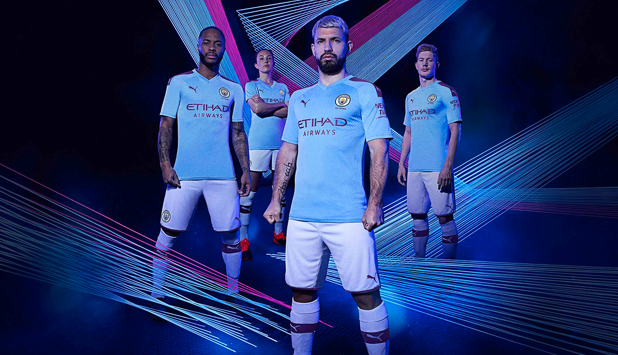 'Manchester City' presentó su nueva camiseta para la temporada 2019-20 de Premier League | FOTOS | VIDEO