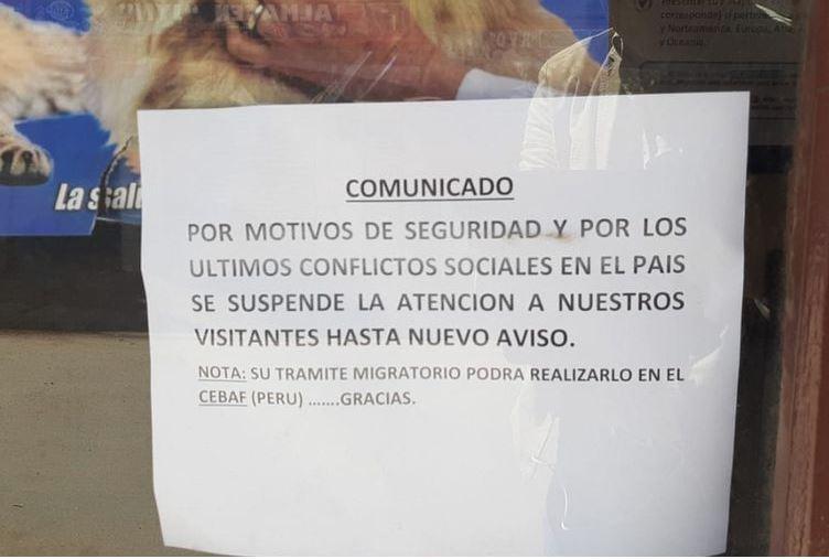 Cierre de frontera con Bolivia continúa y sin solución a la vista - Diario Gestión