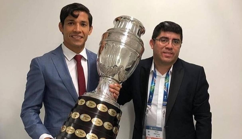 Perú vs. Brasil: chileno Matías Fernández listo para entregar el trofeo de la Copa América