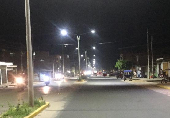 San Martín: Electro Oriente continuará con iluminación tipo led en diversas zonas de Tarapoto | FOTOS