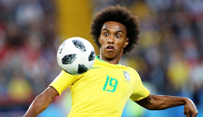 Copa América: Tite elige a Willian para reemplazar a Neymar