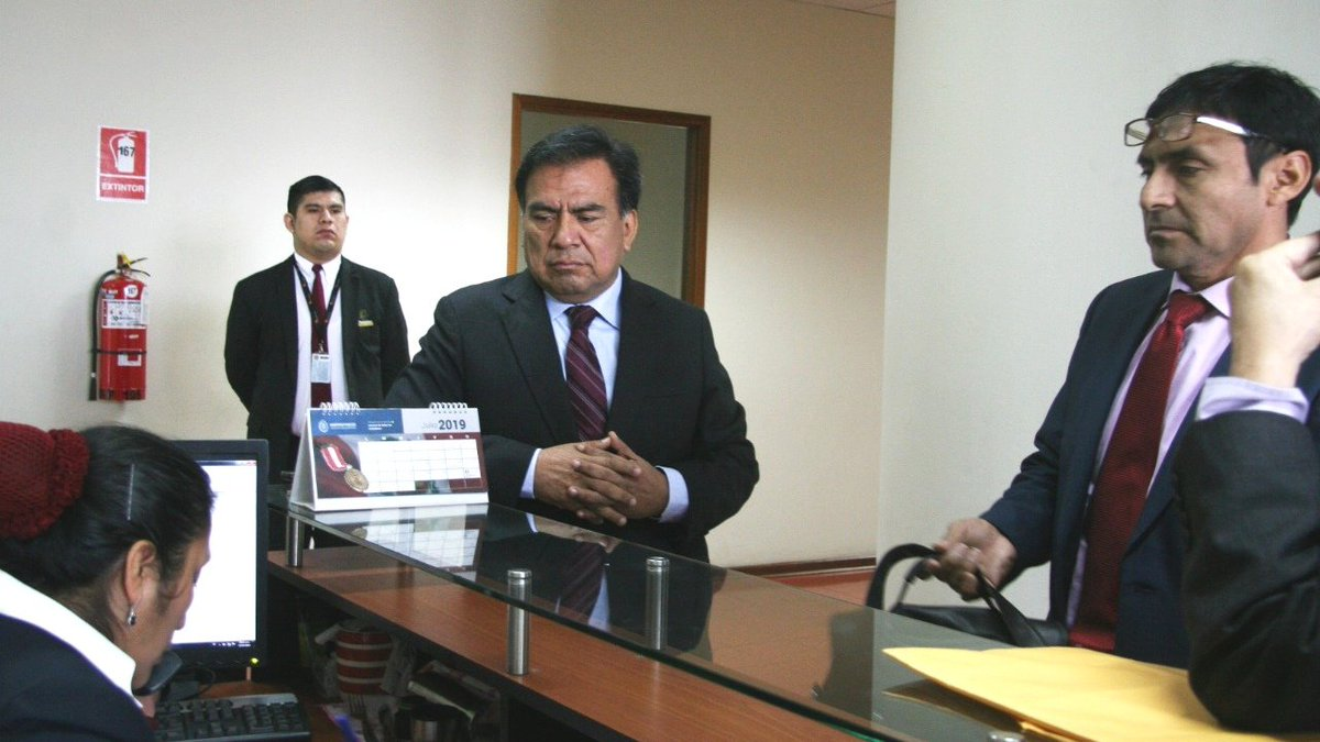 Velásquez Quesquén declara en la fiscalía por 'Los Temerarios del Crimen'