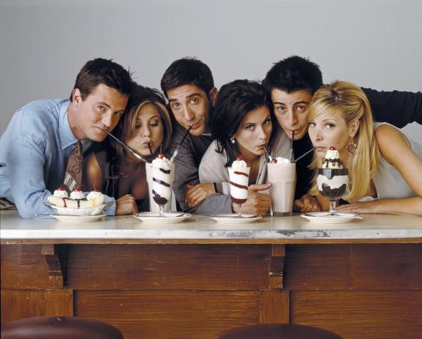 La serie comenzó a grabarse en 1994 y culminó en el 2004.(Getty Images)