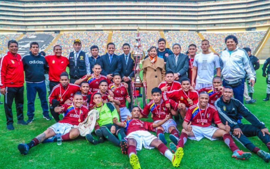 Penal de Chincha se coronó campeón del Inter penales del INPE en el Monumental