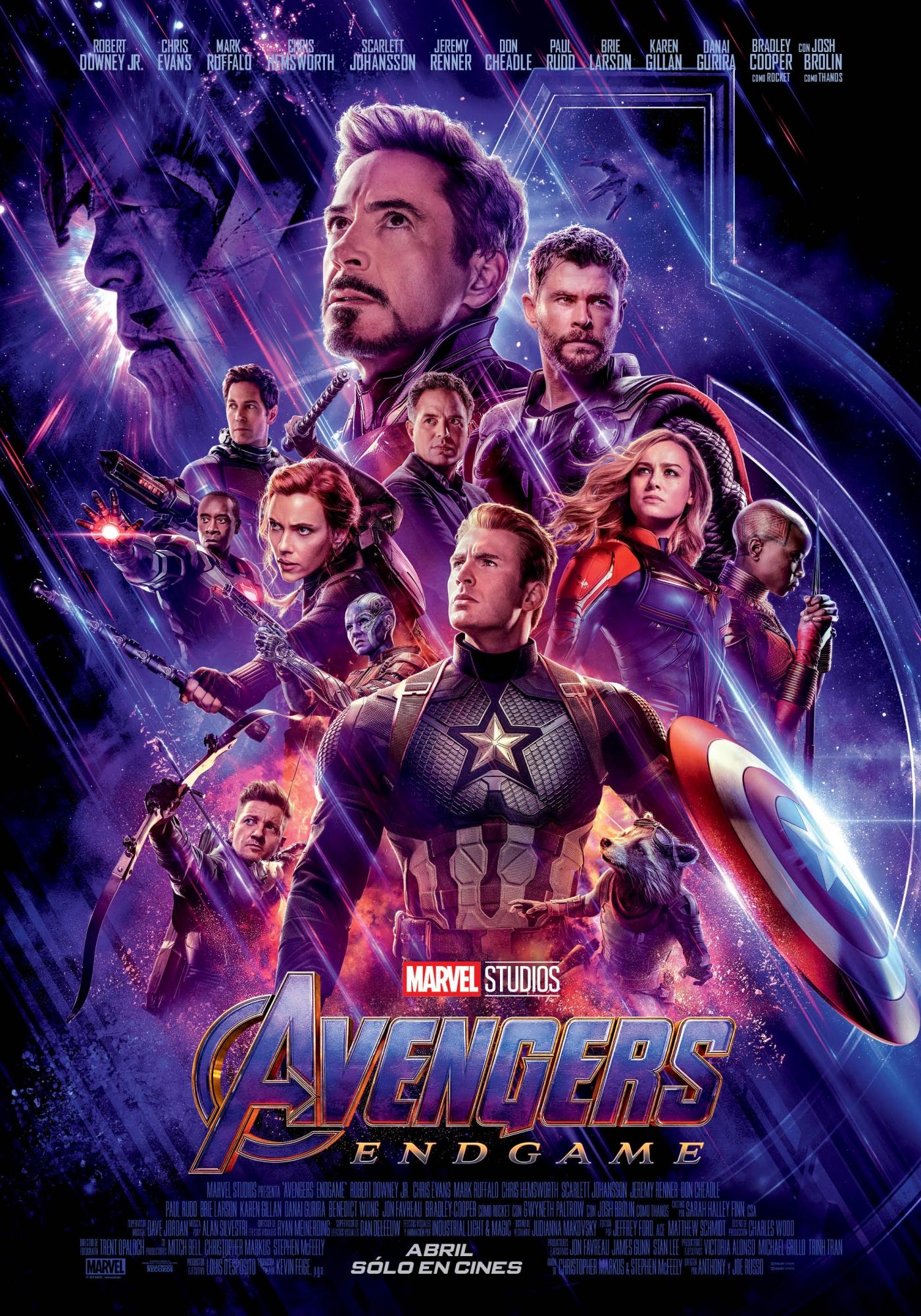 Avengers: Endgame inició la preventa de entradas para la estreno el día de hoy. (Foto: Disney)