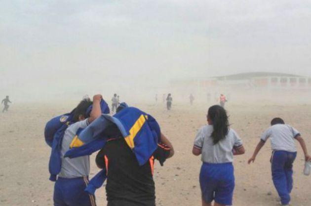 Senamhi: Vientos intensos afectarán a las costas del país a partir de mañana