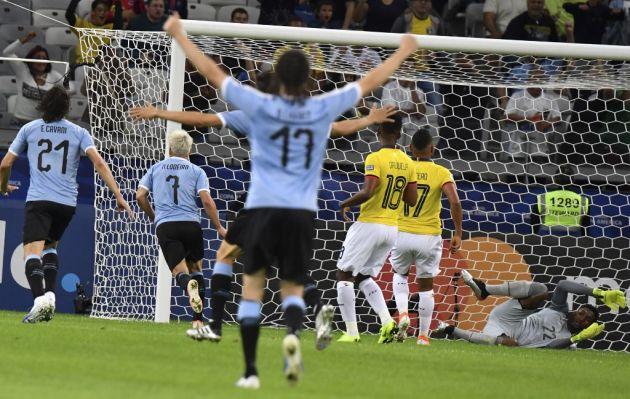 Uruguay venció 4-0 a Ecuador por el Grupo C de Copa América Brasil 2019