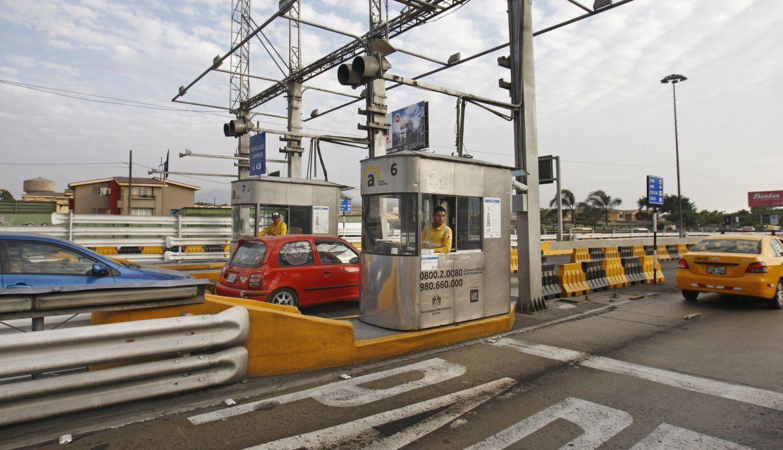 Vía de Evitamiento: adelantan ingreso a carril exclusivo del peaje electrónico para evitar congestión