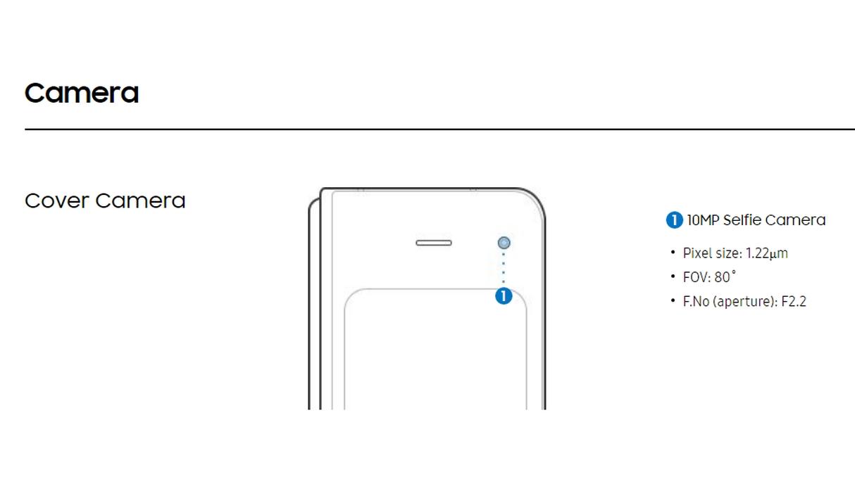 Samsung Galaxy Fold - Especificaciones 2