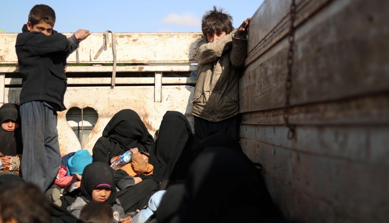 Irak entrega a Turquía 188 hijos de supuestos miembros del Estado Islámico