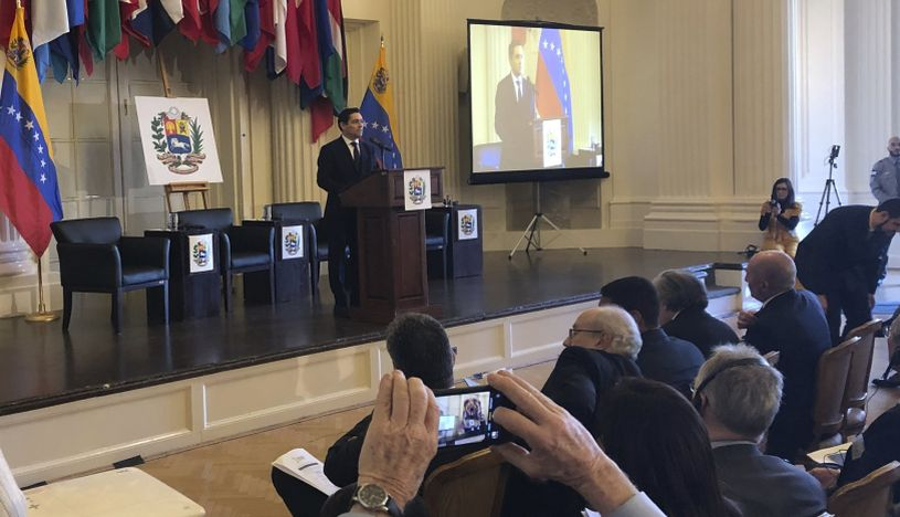 """Inicia la cumbre sobre crisis en Venezuela con un """"ya basta"""" de Carlos Vecchio"""