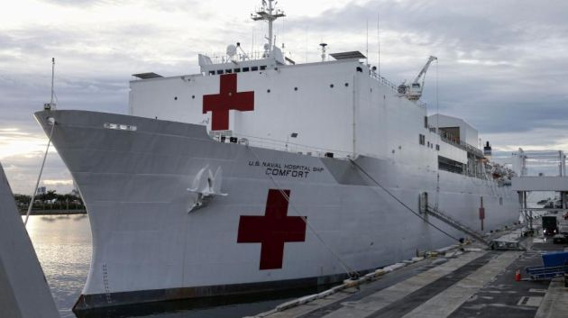 Callao: Buque hospital realizará cirugías gratuitas a pacientes de hospitales