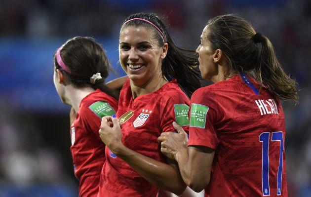 Estados Unidos es finalista tras eliminar a Inglaterra en el Mundial Femenino