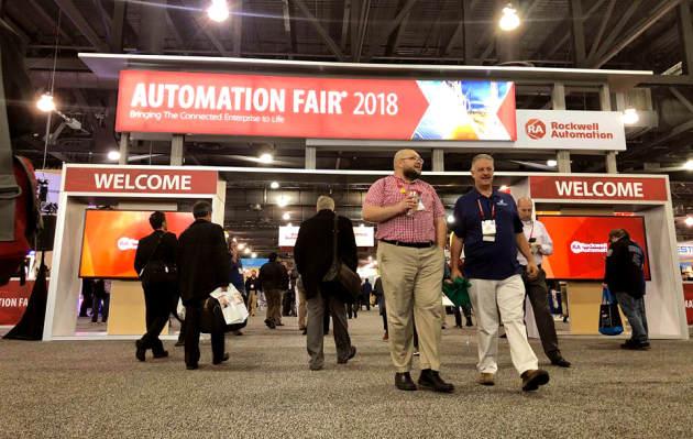 Automation Fair 2018 capta la atención de empresarios industriales