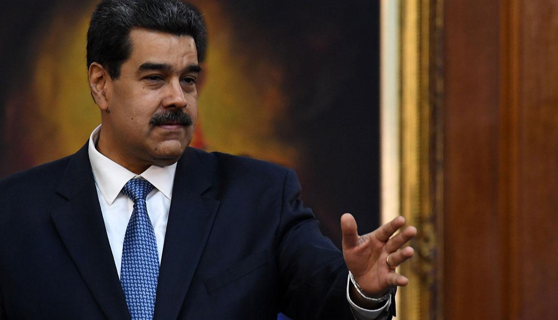 """Nicolás Maduro tilda de """"chantaje"""" exigencia de UE de resultados en diálogo con Guaidó"""
