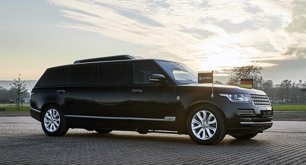 Range Rover se convierte en una limusina resistente a proyectiles | FOTOS