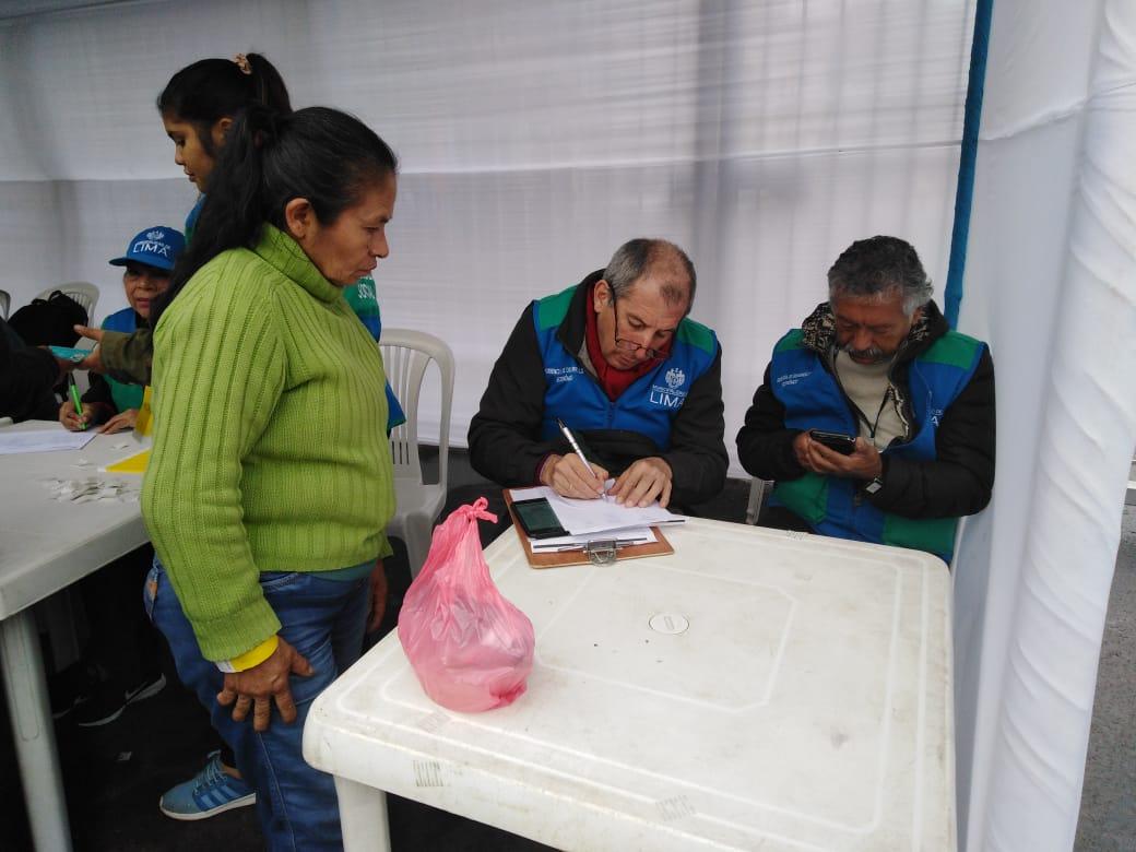 Av. Aviación: facilitarán el acceso de comerciantes ambulantes a más de 2 mil puestos en el Cercado de Lima