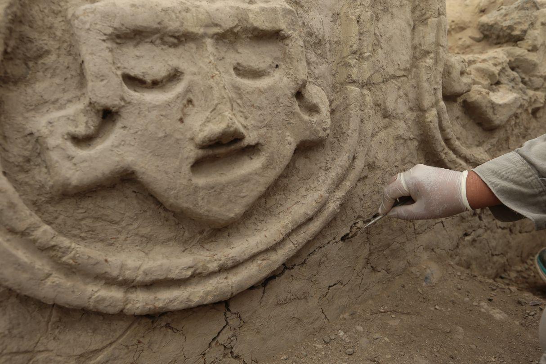 Así es el mural de hace 3.800 años recién descubierto en Vichama | FOTOS Y VIDEO