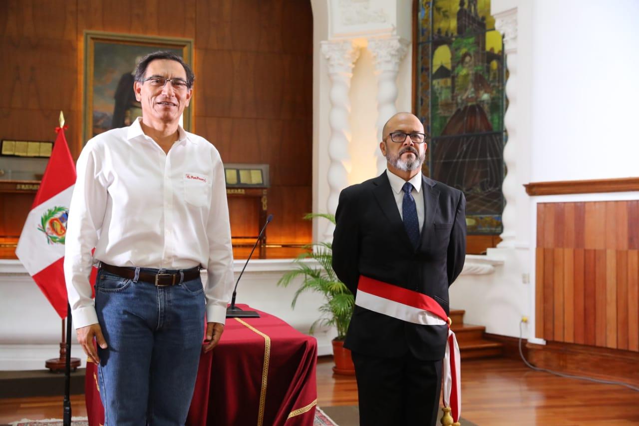 Coronavirus en Perú: Víctor Zamora juró esta tarde como nuevo ministro de Salud | Ministerio de Salud | Martín Vizcarra nndc | PERU | GESTIÓN