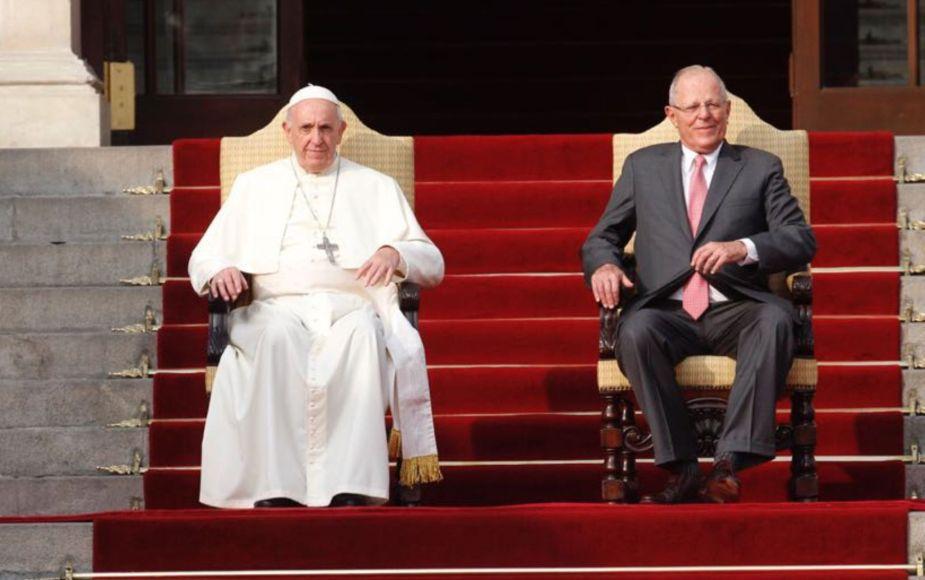 El papa denuncia en Palacio la corrupción que hace tanto mal en Latinoamérica