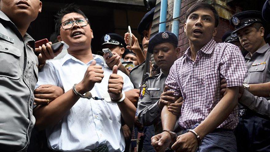 Birmania: Los dos periodistas de Reuters son liberados gracias a un perdón presidencial