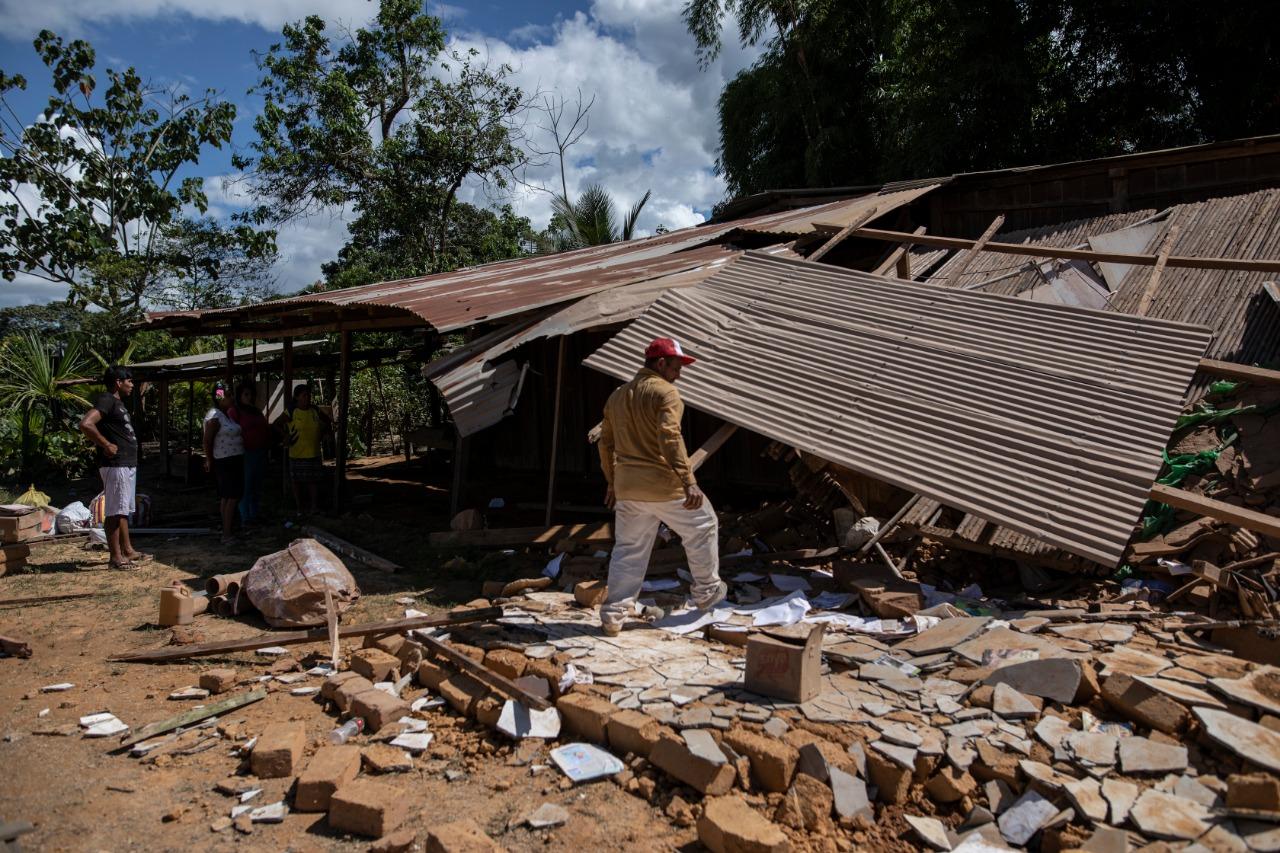 Sismo en Loreto: declaran en emergencia otros 14 distritos por desastre