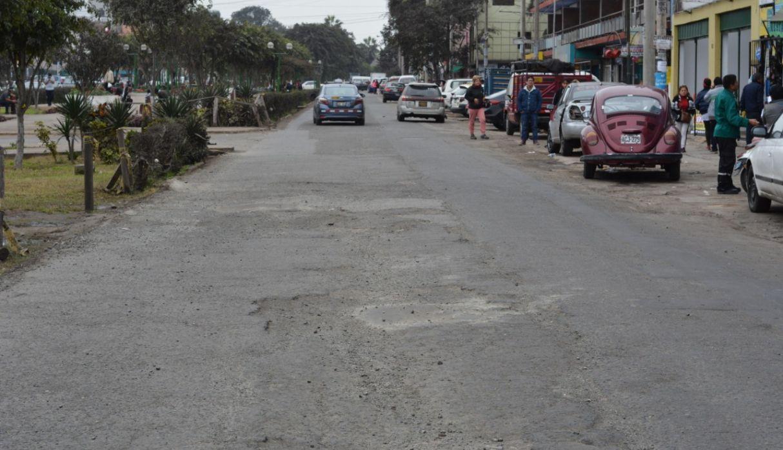 La Victoria: repararán pistas y veredas de la avenida Palermo