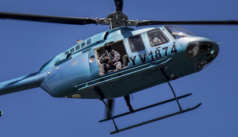 Cae helicóptero del Ejército de Venezuela con siete tripulantes a bordo
