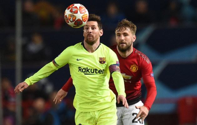 Barcelona venció 1-0 a Manchester United de visita por Champions League