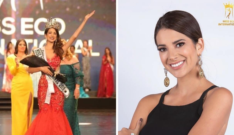 La representante peruana Suheyn Cipriani se coronó como Miss Eco International 2019 | VIDEO