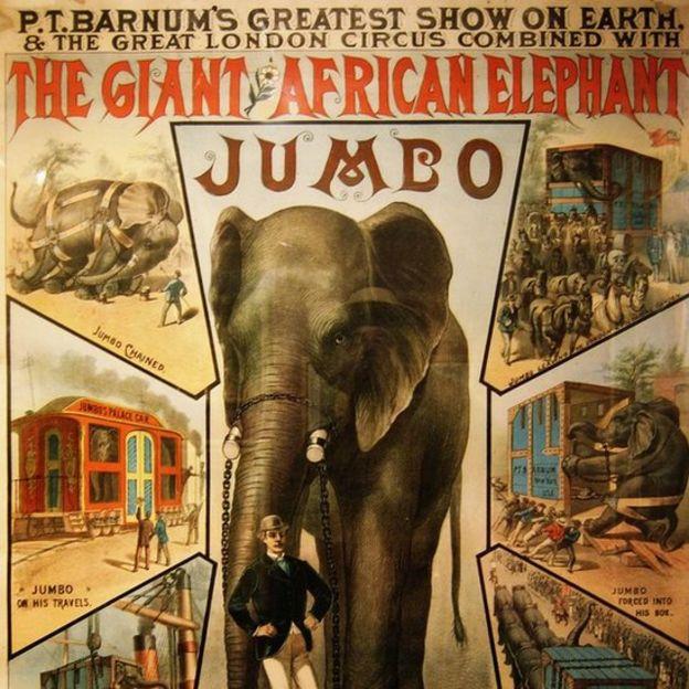 'Jumbo': La triste historia de maltrato del elefante que inspiró a 'Dumbo'. (Wiki Commons)