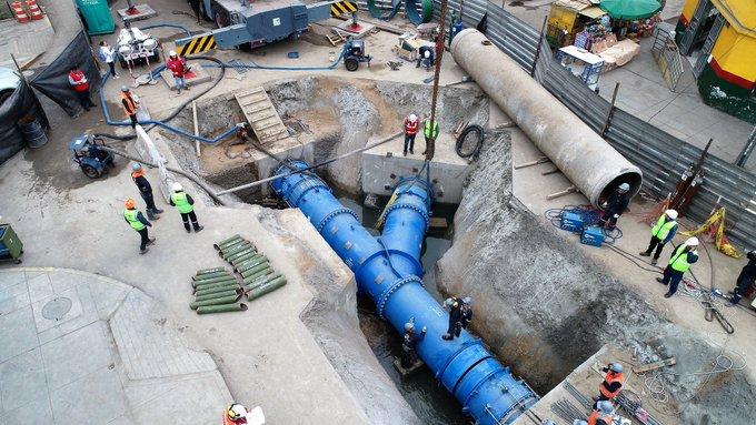 Culminaron los trabajos de la Línea 2 del Metro que motivaron el corte de agua
