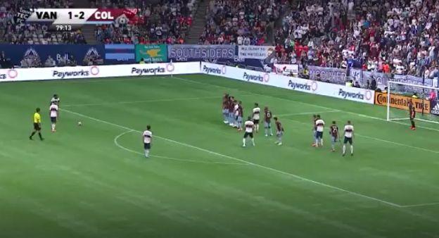 Yordy Reyna anotó brillante golazo de tiro libre para a Colorado Rapids en la MLS   VIDEO
