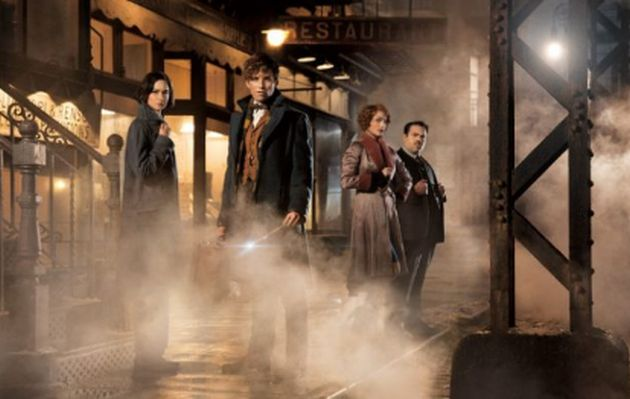 """""""Fantastic Beasts and Where to Find Them"""" lidera taquillas"""