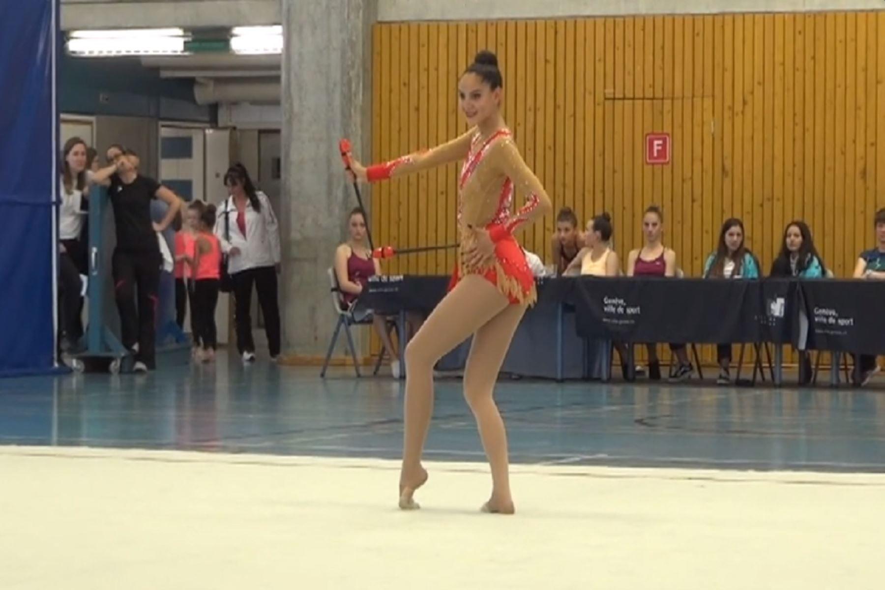 Lima 2019: Carla Corminboeuf, la gimnasta suiza que eligió representar al Perú