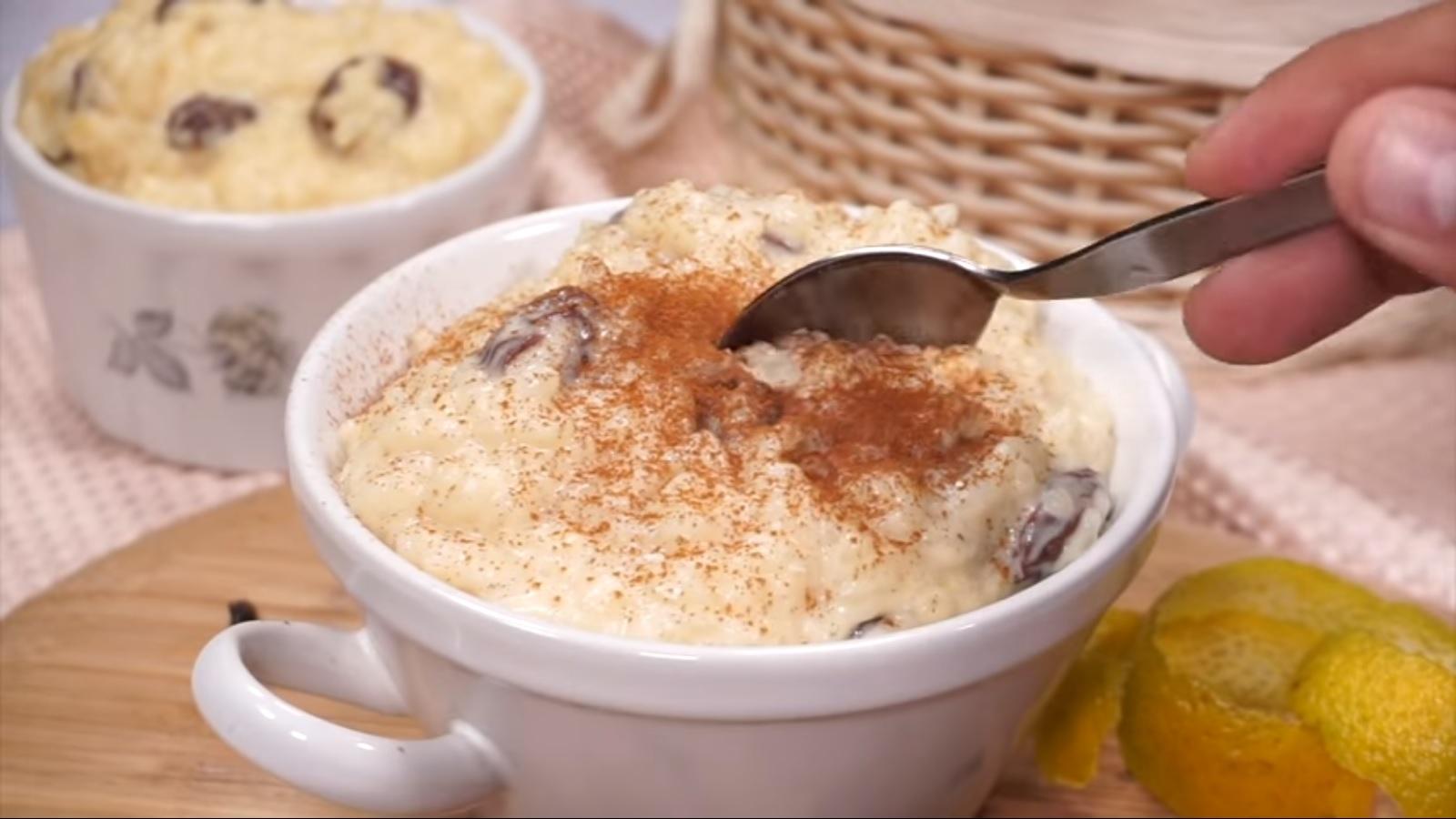 Arroz con leche, el clásico postre para disfrutar en casa | RECETA Y VIDEO