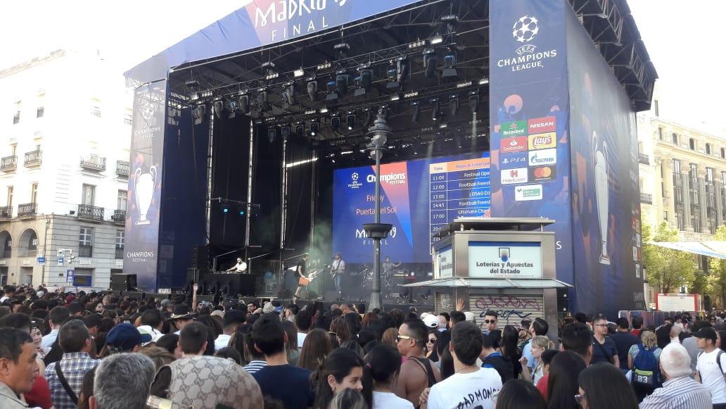 Champions League: así se espera en Madrid la final entre Liverpool y Tottenham [FOTOS]