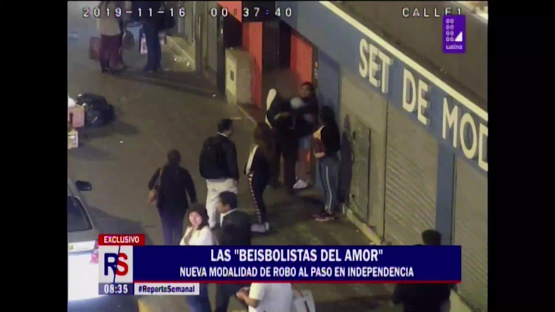 ¡A tener cuidado! 'Las beisbolistas del amor' distraen a sus víctimas con encantos para robar billeteras y celulares - Diario Perú21