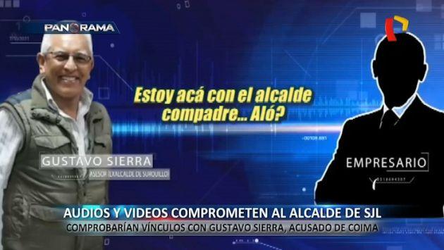 Audios involucrarían al alcalde Álex Gonzales con el caso de Gustavo Sierra