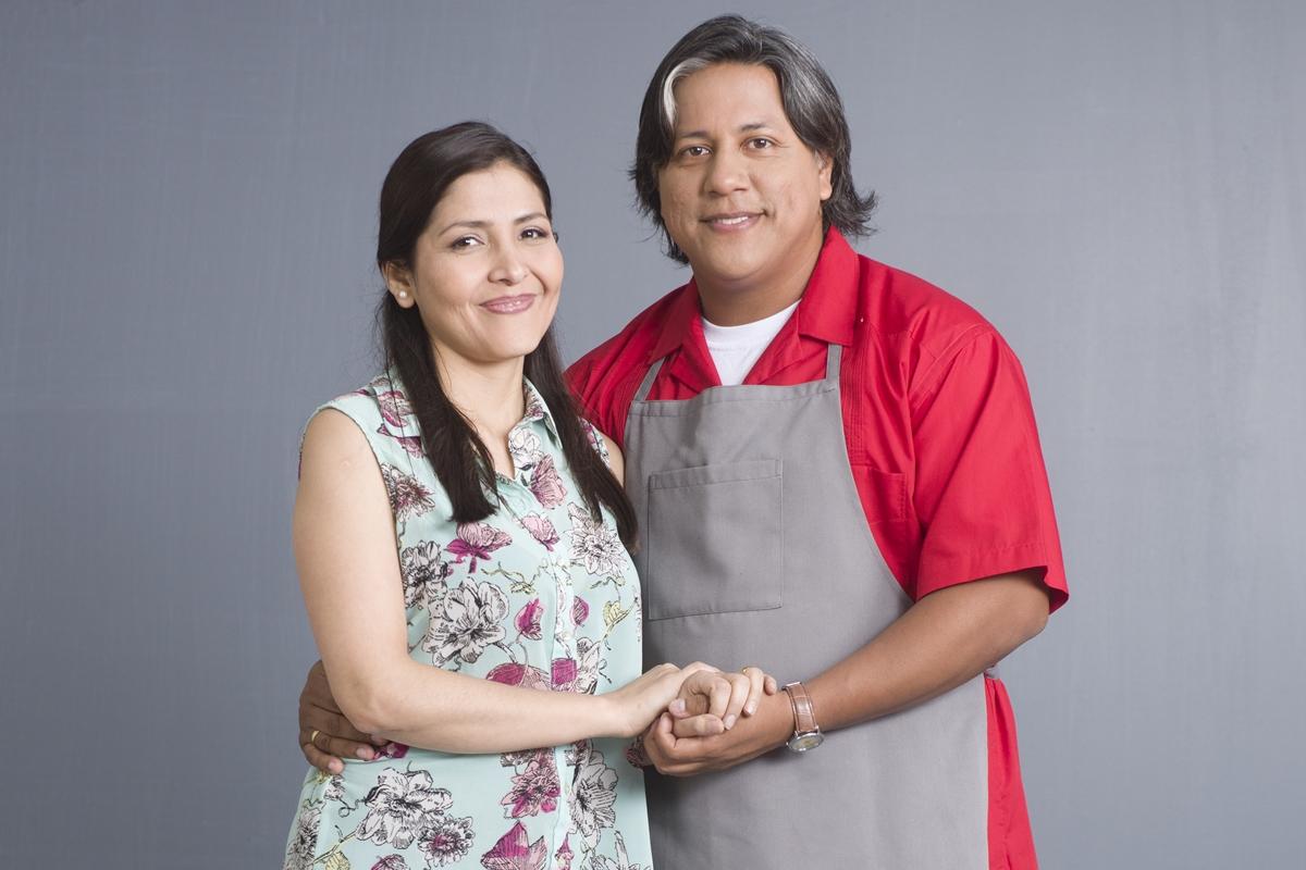Carolina Infante (Gisela) y Emilram Cossio (Donald). (Foto: Difusión)