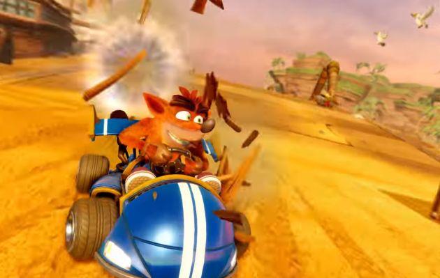 El remaster de 'Crash Team Racing' se lanzará en el 2019