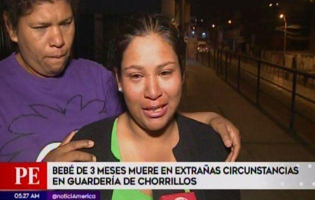 Chorrillos: Bebé de tres meses murió en extrañas circunstancias en una guardería