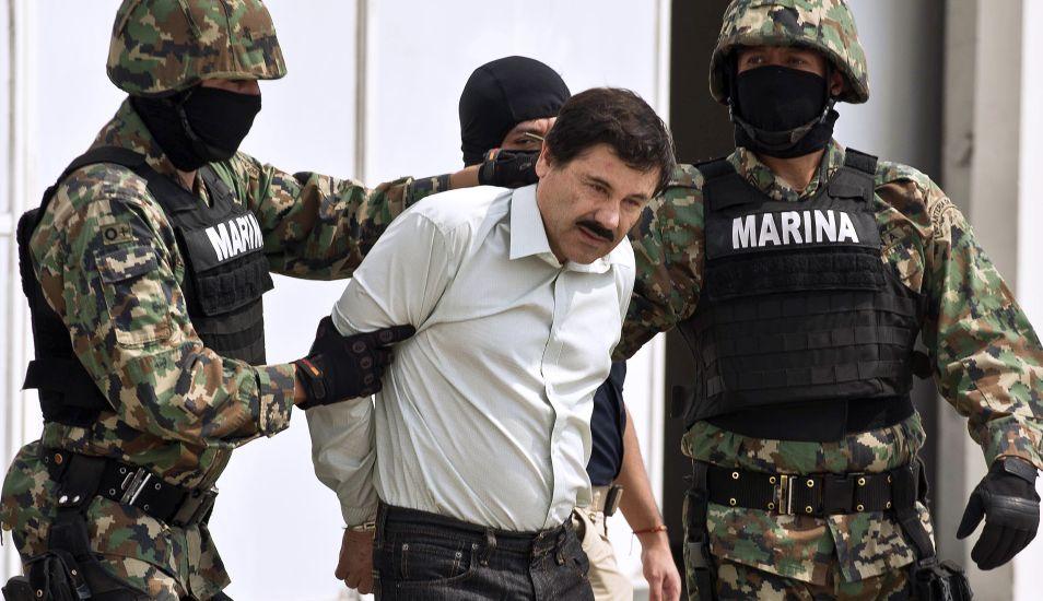 La pena de muerte fue descartada para Joaquín 'El Chapo' Guzmán desde antes de su juicio como parte del acuerdo para extraditarlo de México a EE.UU. (Foto: AFP)